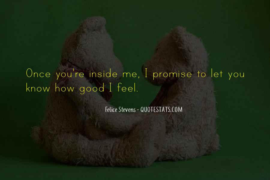 Quotes About I Promise You #186355