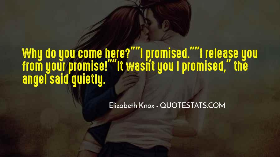 Quotes About I Promise You #20171
