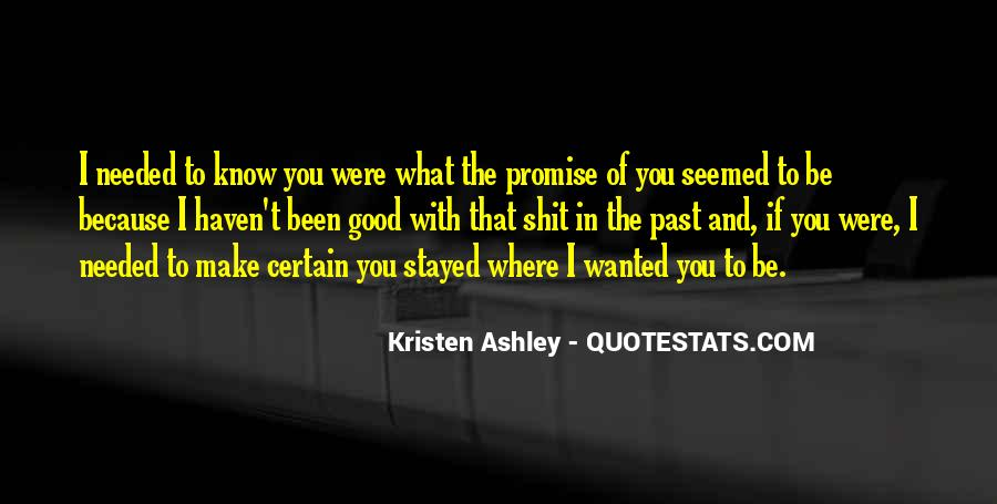 Quotes About I Promise You #54081