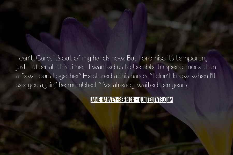 Quotes About I Promise You #54116