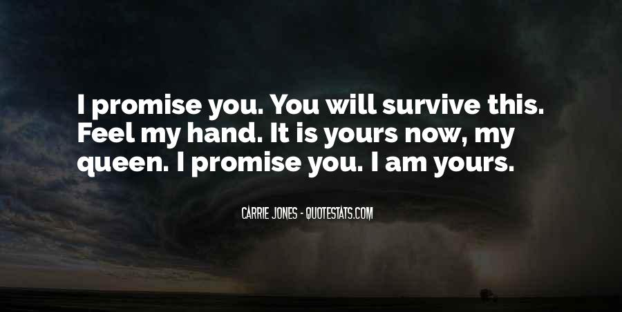 Quotes About I Promise You #97316