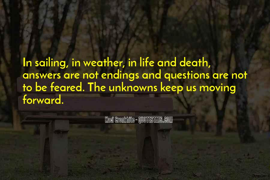 Quotes About Weather And Life #1068176