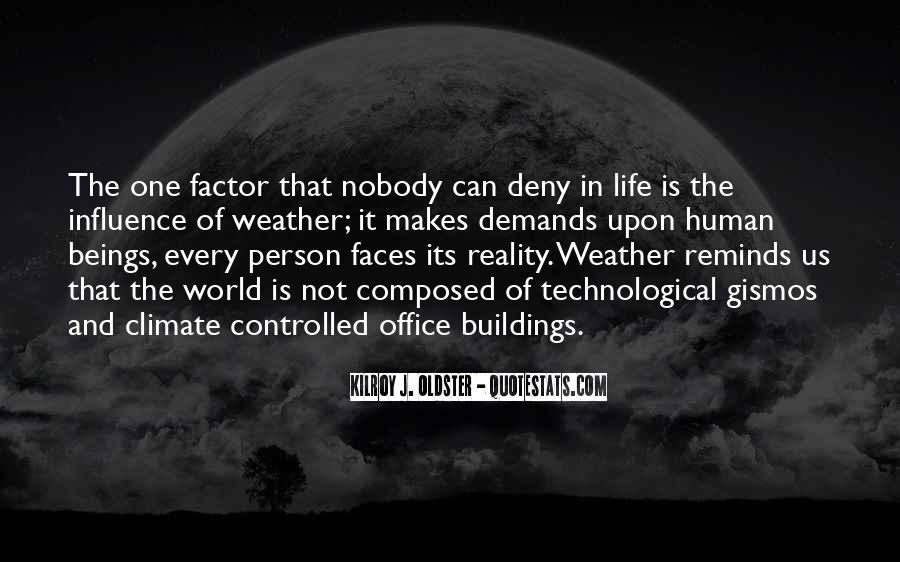 Quotes About Weather And Life #1359775