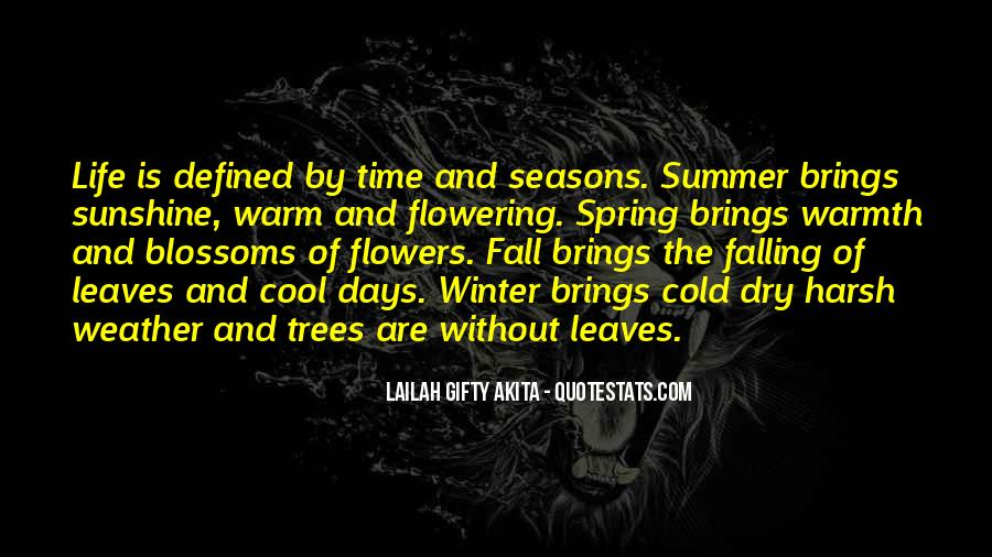 Quotes About Weather And Life #1377268