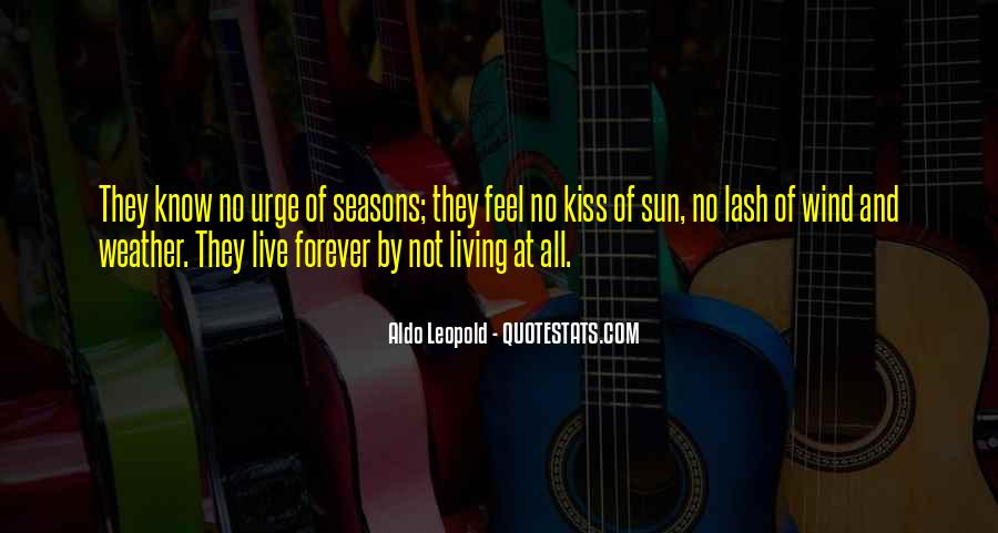 Quotes About Weather And Life #1628498