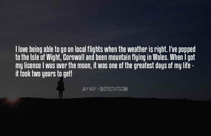 Quotes About Weather And Life #267571