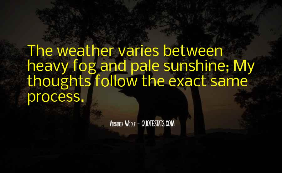 Quotes About Weather And Life #313362
