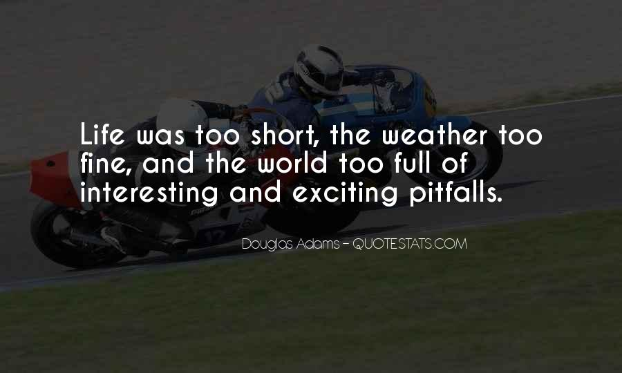 Quotes About Weather And Life #359421