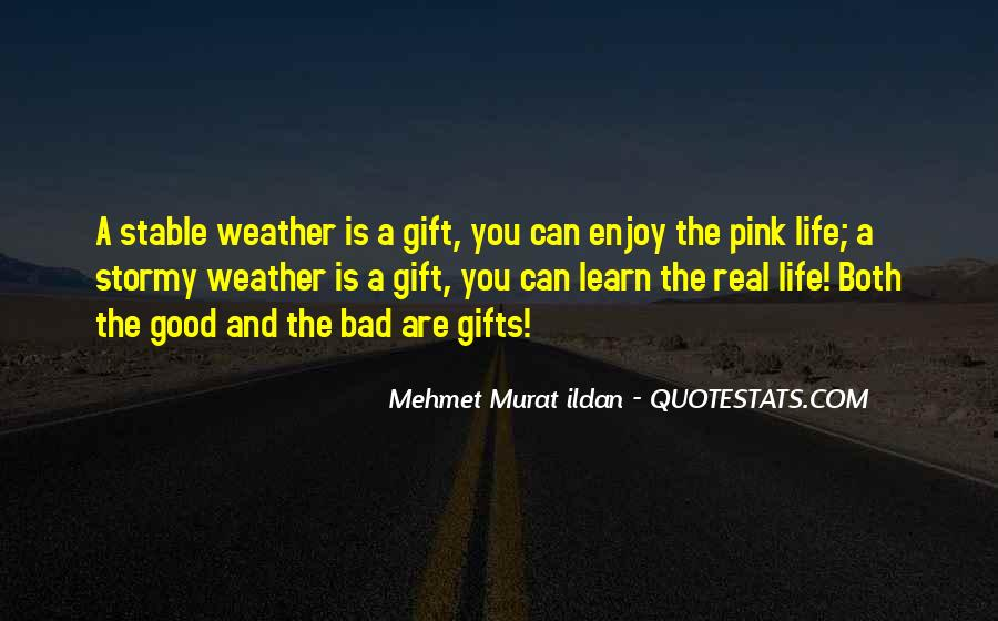 Quotes About Weather And Life #603138