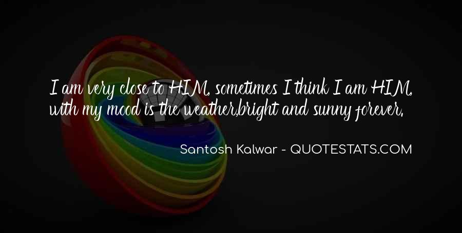 Quotes About Weather And Life #62167