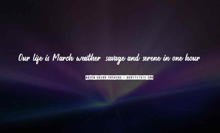 Quotes About Weather And Life #644829