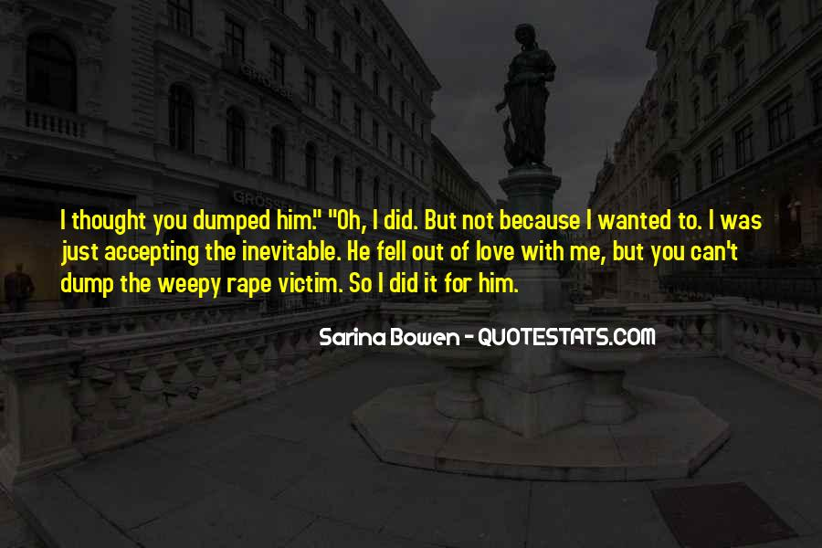 Quotes About Weepy #1437750