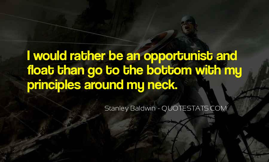 Quotes About Opportunist #2009