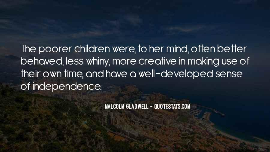 Quotes About Well Behaved Children #1745832