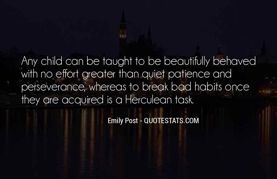 Quotes About Well Behaved Children #971644