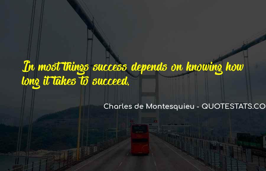 Quotes About What It Takes To Succeed #1056956
