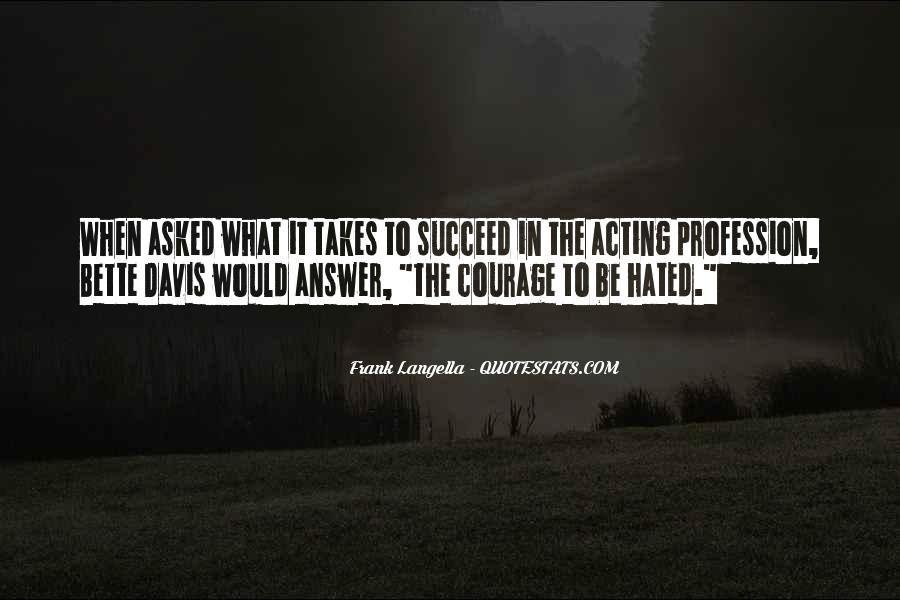 Quotes About What It Takes To Succeed #189891