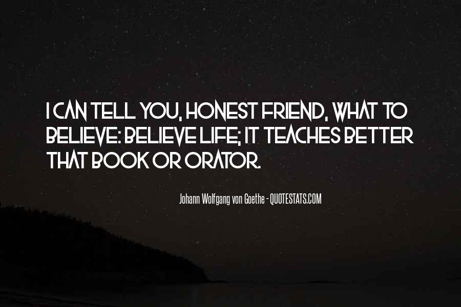 Quotes About What Life Teaches You #1358961