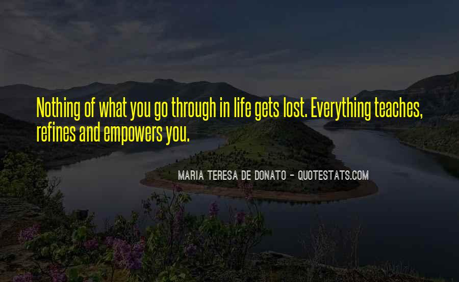 Quotes About What Life Teaches You #1690490