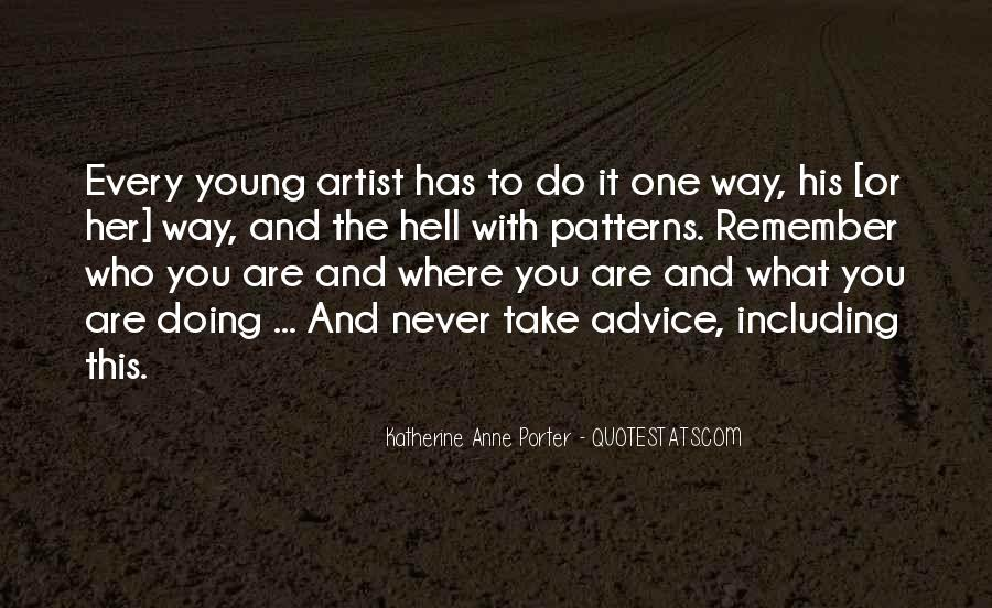 Quotes About What You Are Doing #103690