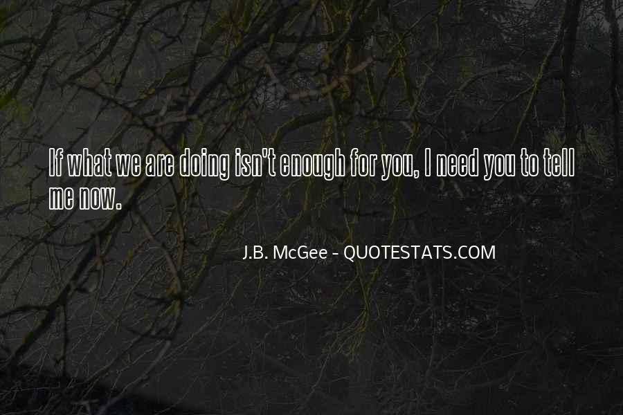 Quotes About What You Are Doing #111278
