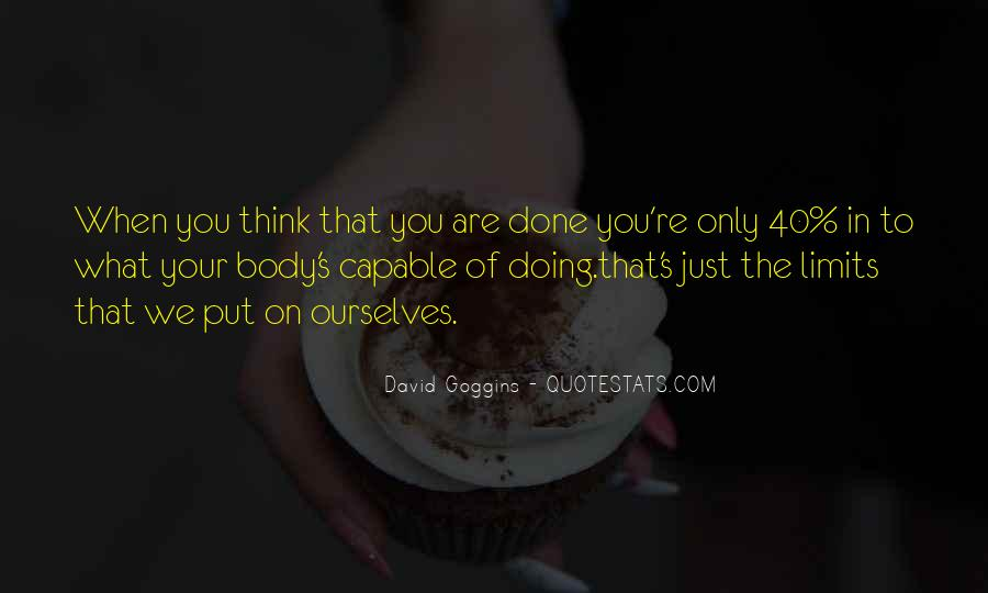 Quotes About What You Are Doing #116093