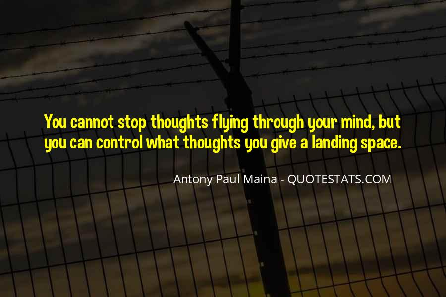 Quotes About What You Cannot Control #1703548