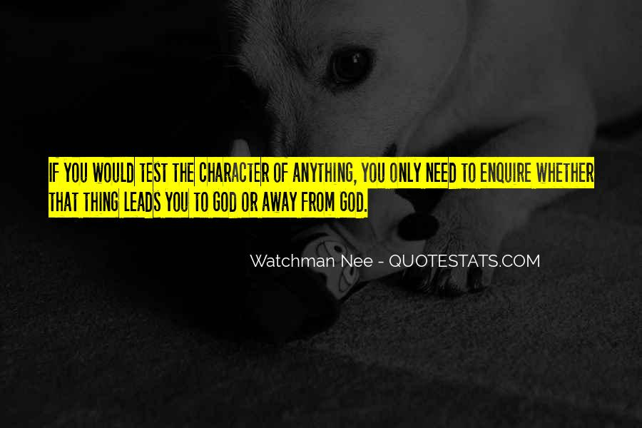 Quotes About Where God Leads You #211377