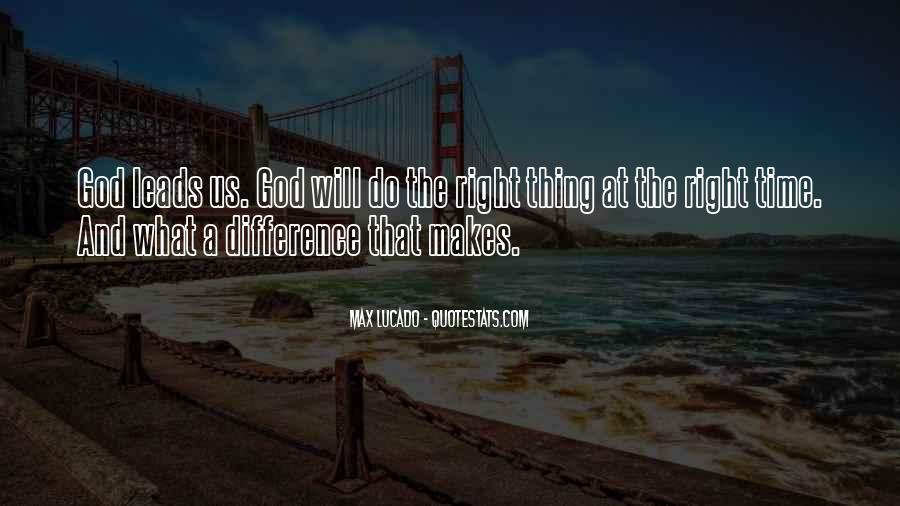 Quotes About Where God Leads You #230464
