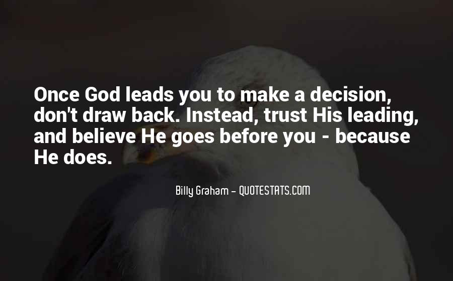 Quotes About Where God Leads You #329974