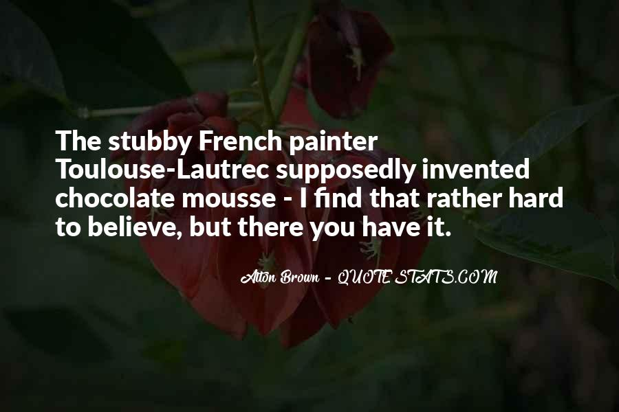 Quotes About Mousse #50419