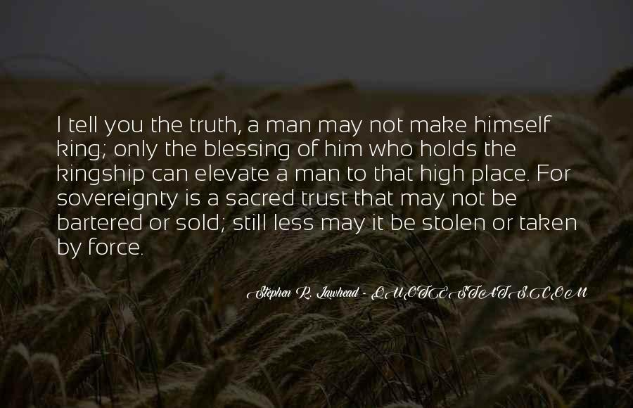 Quotes About Who You Can Trust #1044173
