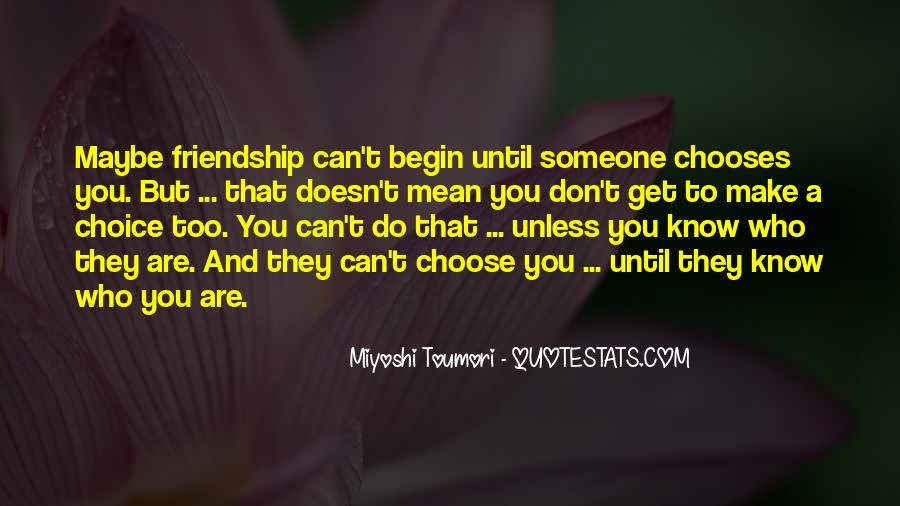 Quotes About Who You Can Trust #1192962