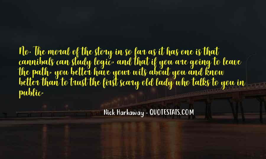 Quotes About Who You Can Trust #1257406