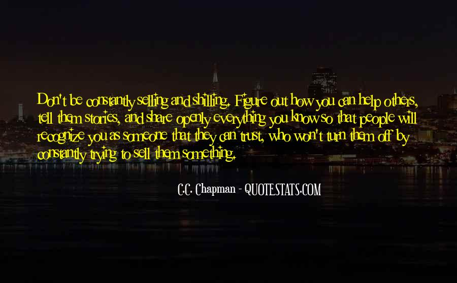 Quotes About Who You Can Trust #1325674