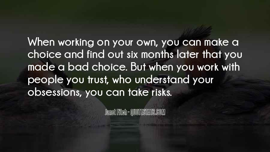 Quotes About Who You Can Trust #1354341