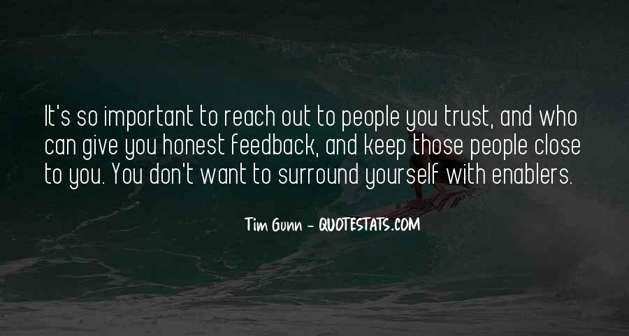 Quotes About Who You Can Trust #136035