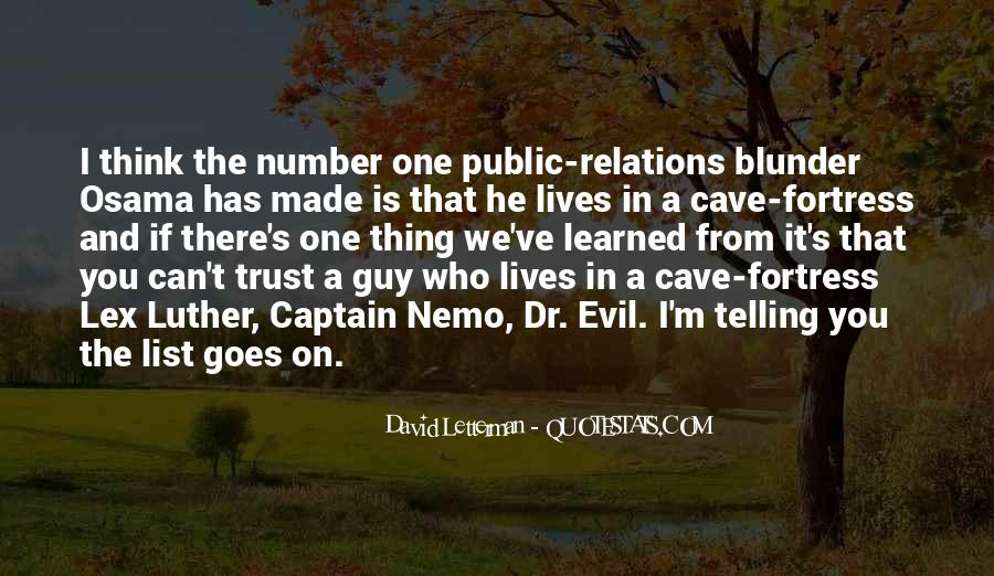 Quotes About Who You Can Trust #1442075