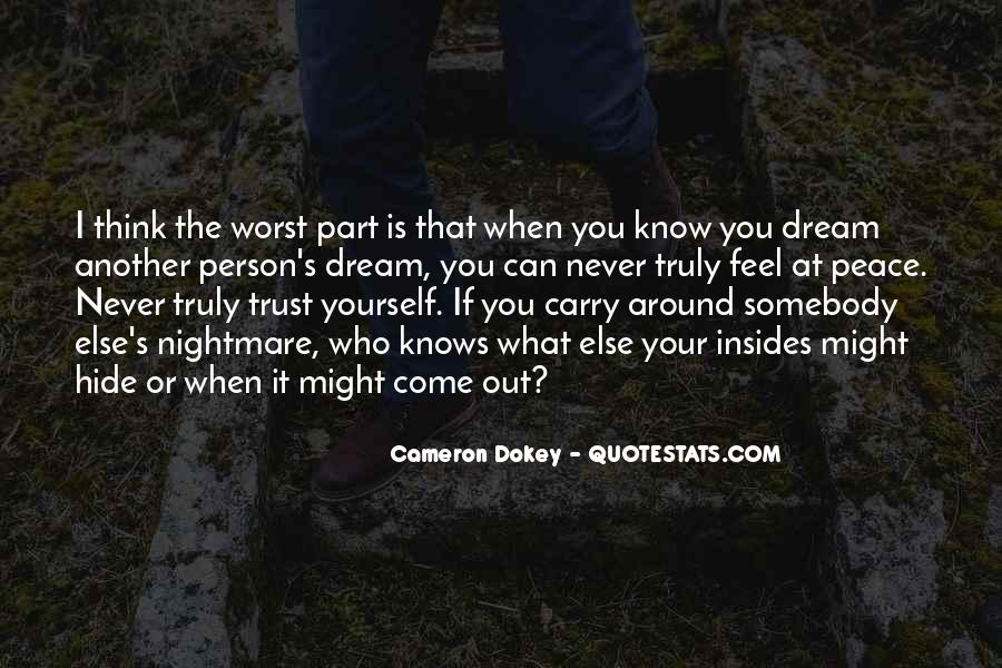 Quotes About Who You Can Trust #1523247