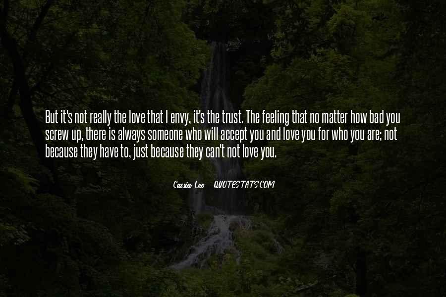 Quotes About Who You Can Trust #258749