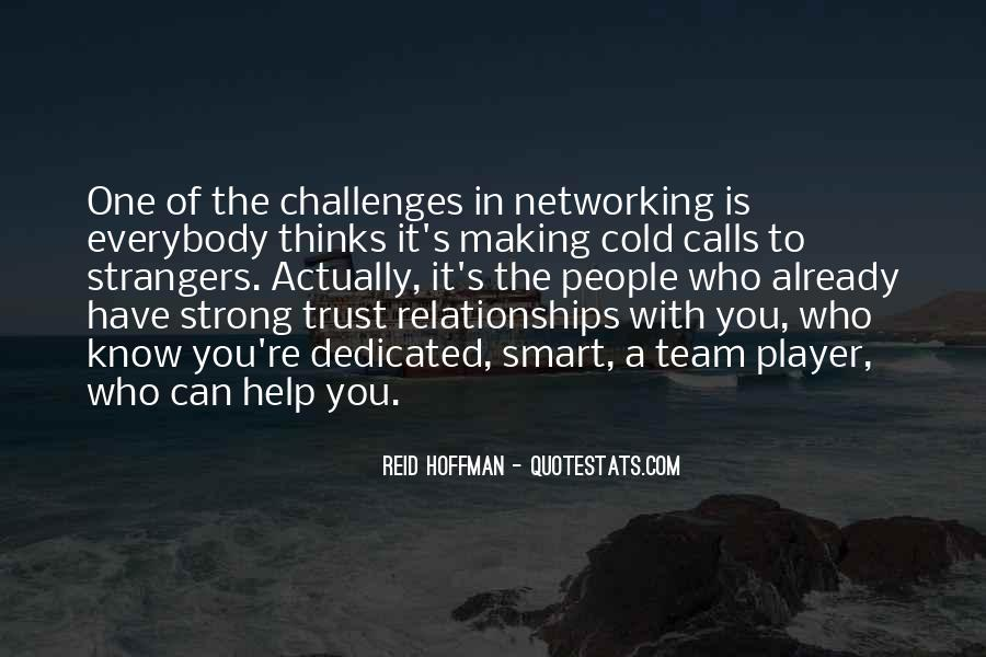 Quotes About Who You Can Trust #290611