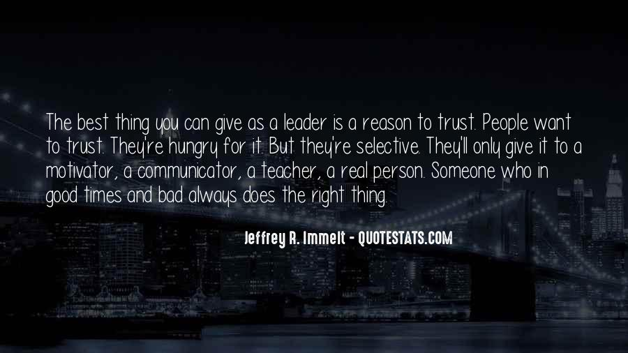 Quotes About Who You Can Trust #693327