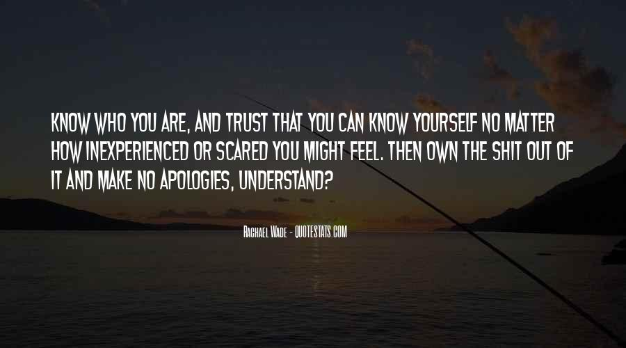 Quotes About Who You Can Trust #851249
