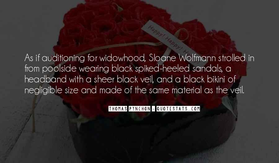 Quotes About Widowhood #1432512