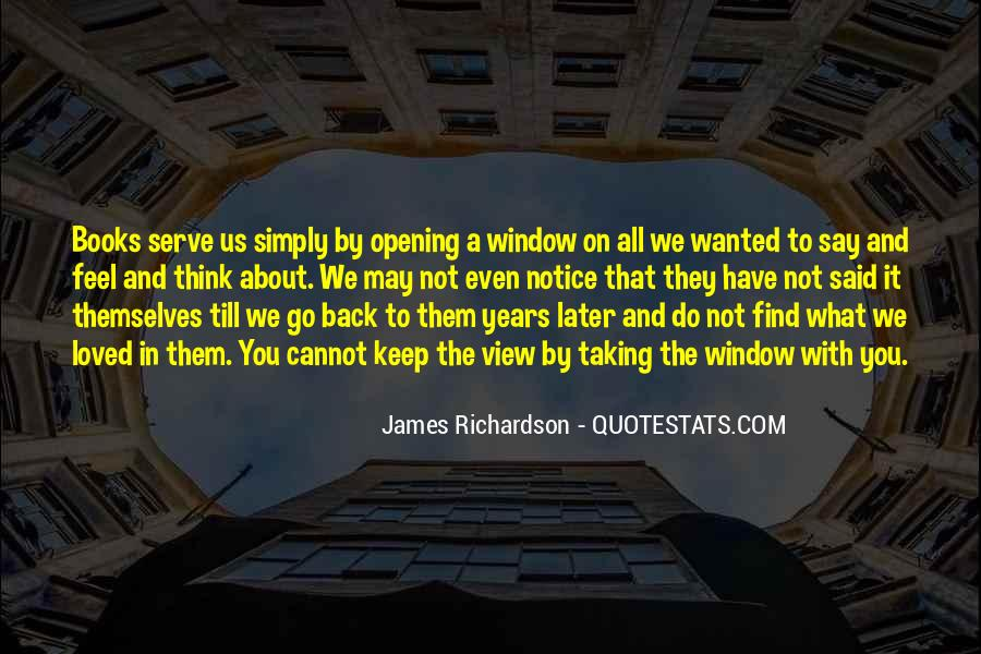 Quotes About Window View #1172006