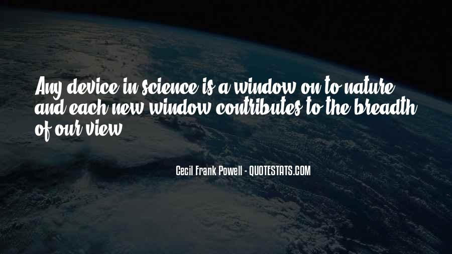 Quotes About Window View #1250185