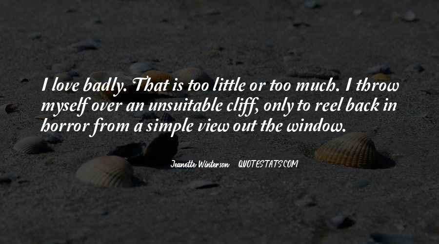 Quotes About Window View #1267525