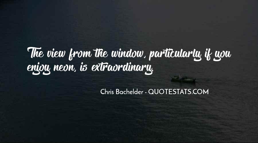 Quotes About Window View #1466669