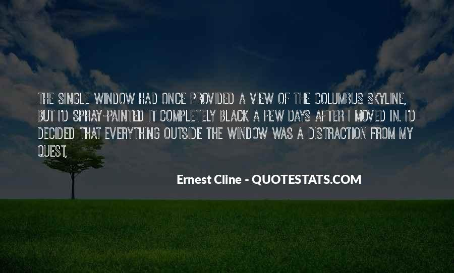 Quotes About Window View #820189
