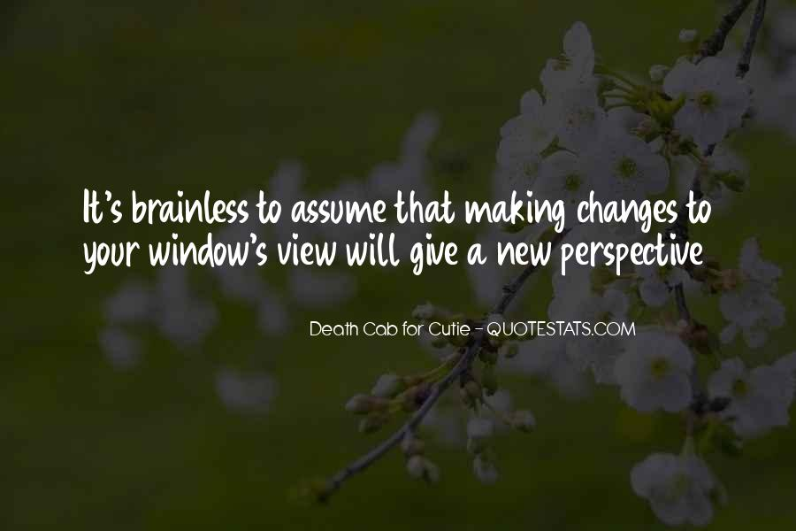 Quotes About Window View #825339